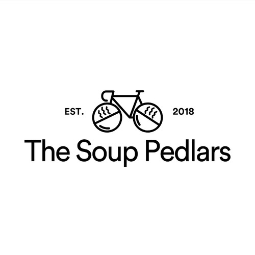 Logo for soup delivery company