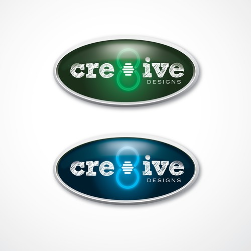 Cre8ive winning logo