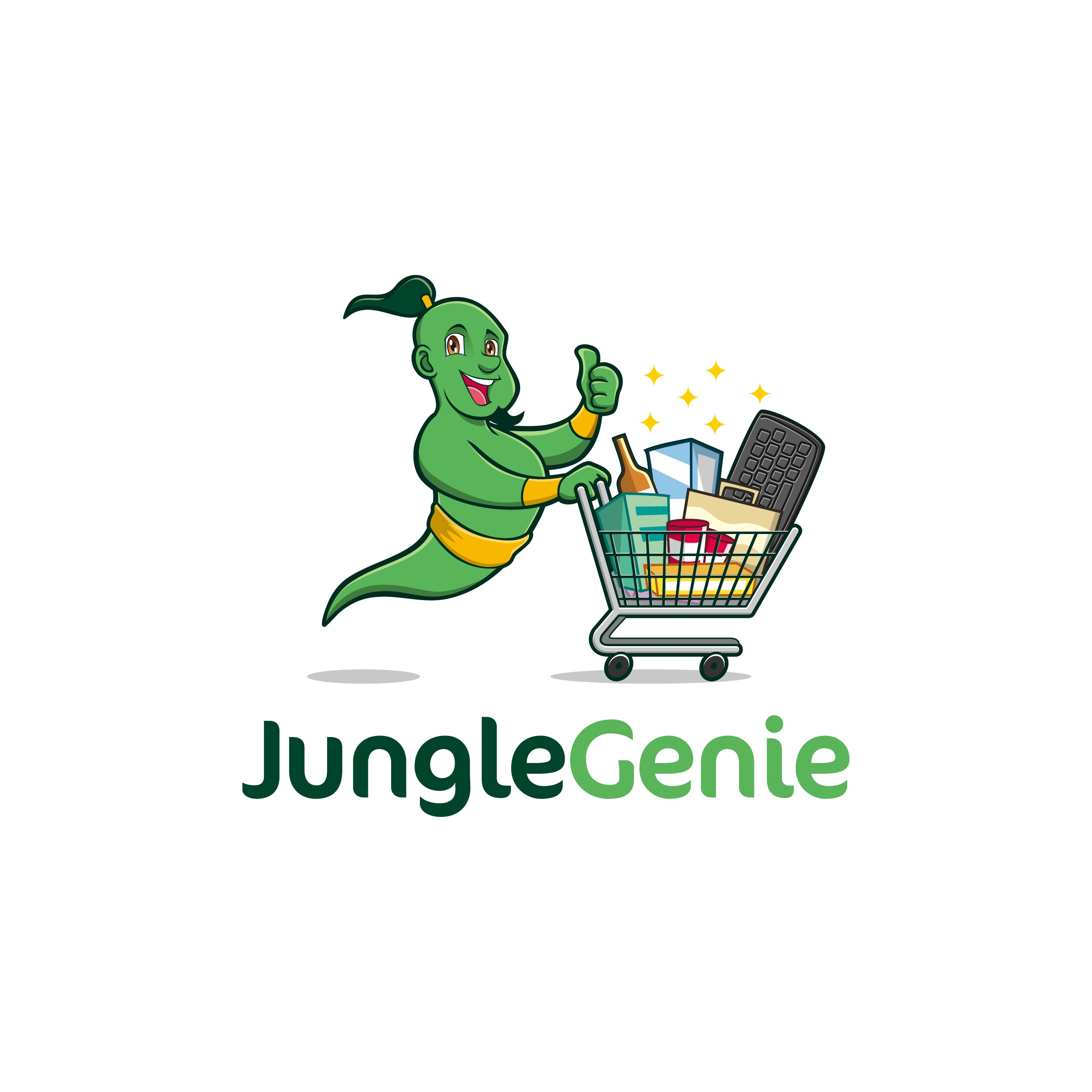 Logo for Jungle Genie