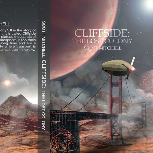Book Cover for Science Fiction Book