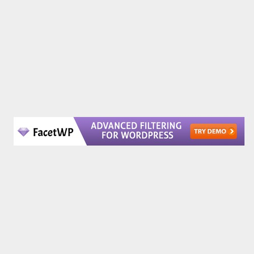 Simple Attention Grabbing 728x90 Banner ad