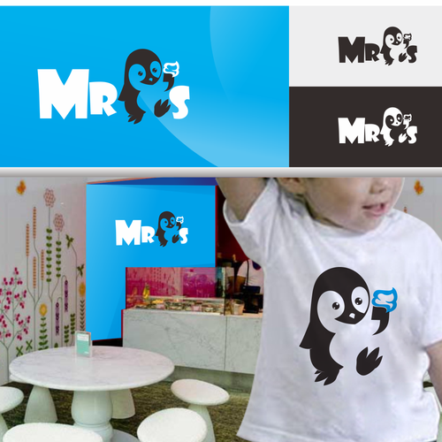 Create the next logo for Mr. P's