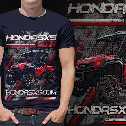 Off-Road T-Shirt for the Honda SxS Club