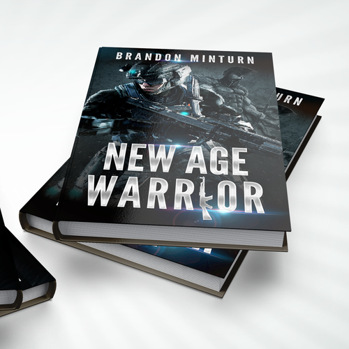 Book cover for a fictional new age military