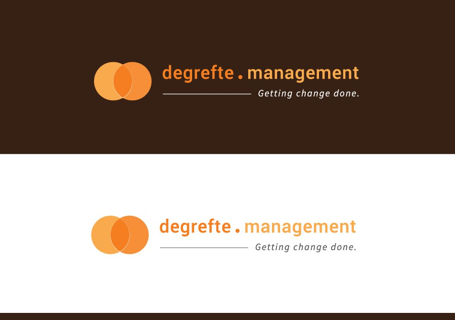 Create a logo/website for a program & change management professional.