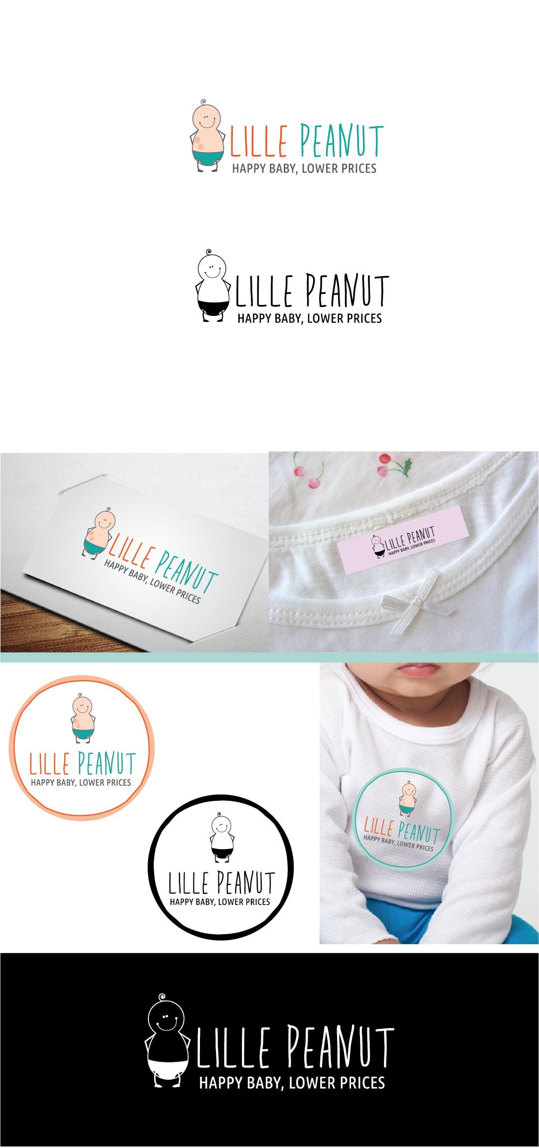Create a baby flash sale logo targeting Scandinavia
