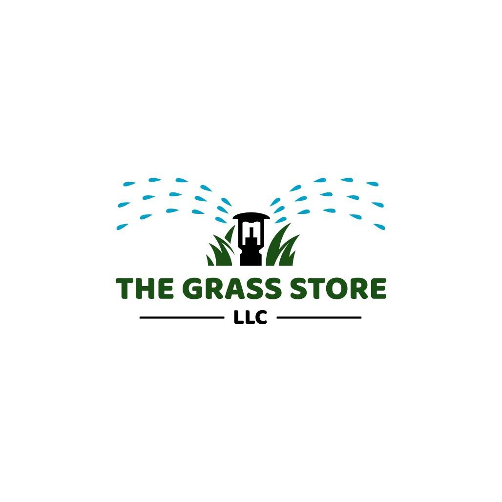 Creative Grass Store Versatile Logo