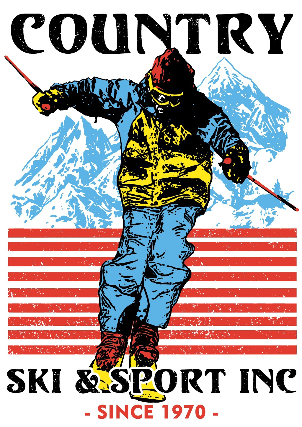 Ski Shop Needs a T-shirt that every skier will want!