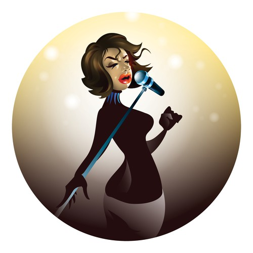 I made an avatar for mobile jukebox application