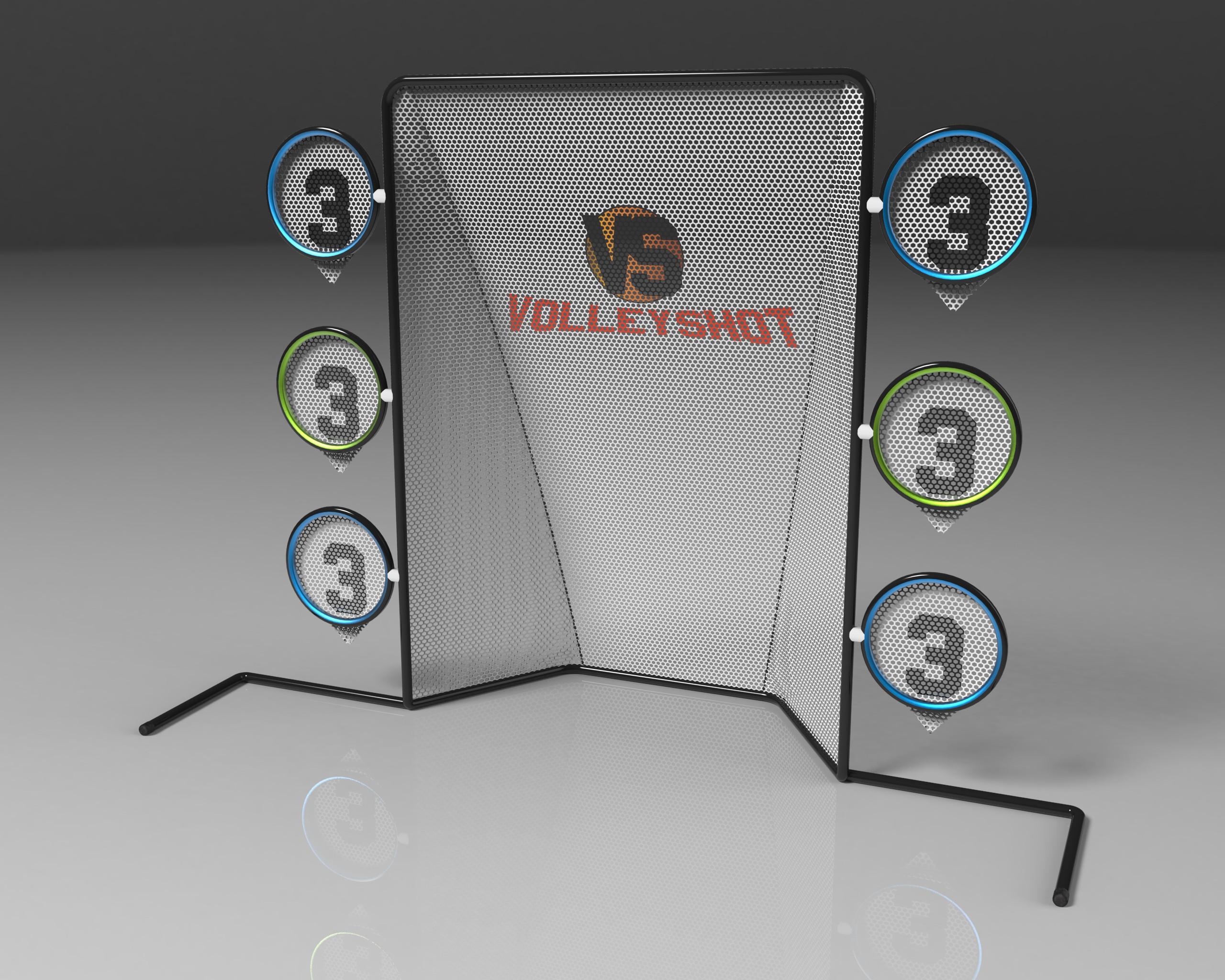 Rallyball game