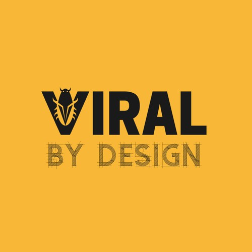 Logo for a Viral business