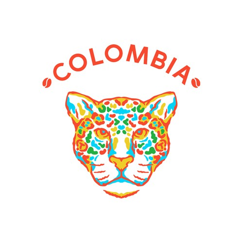 Colombia coffee bag marking