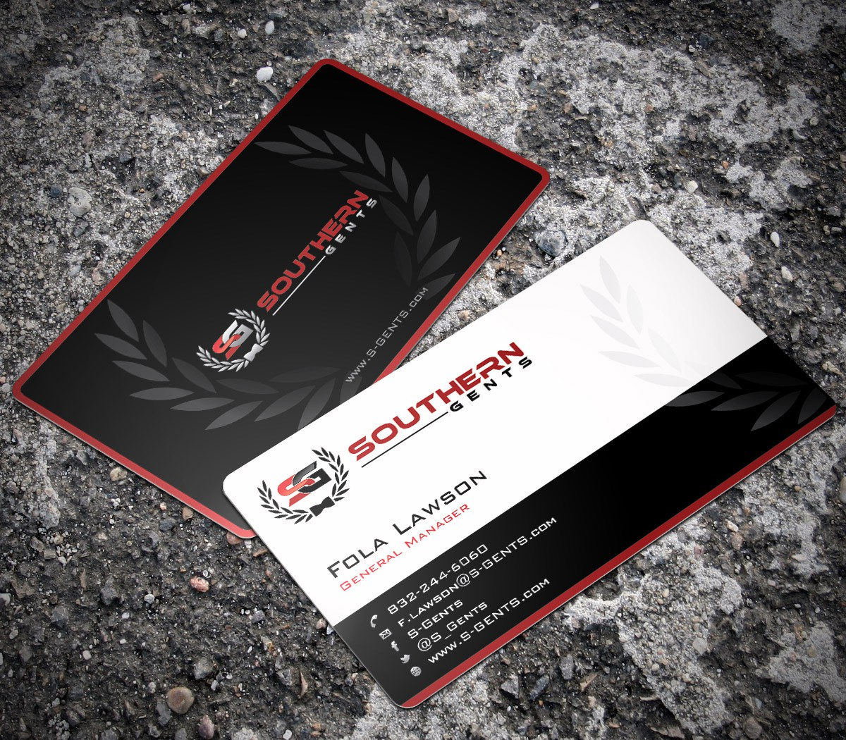 Create the next stationery for Southern Gents (Lifestyle & Entertainment)