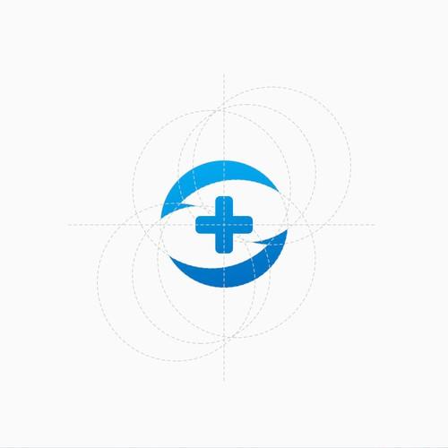 Logo concept for eye center