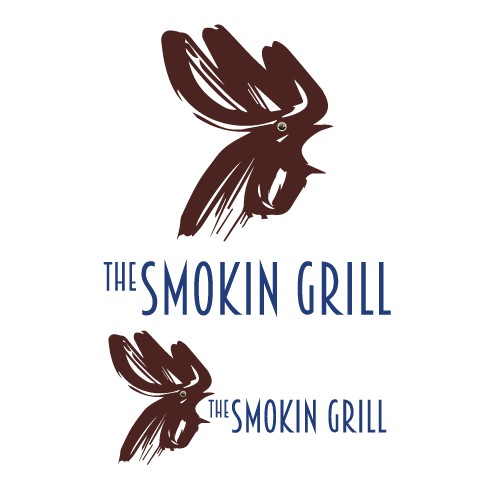 The Smokin Grill Logo Option 2