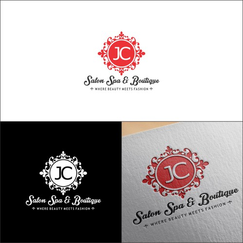 JC Salon and Spa Logo