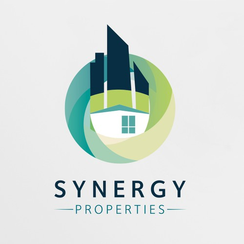 Create an edgy synergetic brand for Synergy Properties - a real estate solutions company!