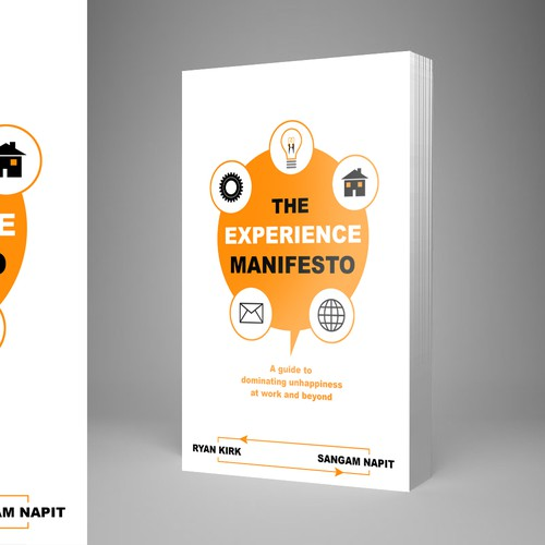 Simple book cover design