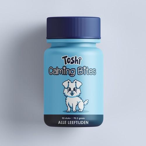 Health Supplement for Dogs - Etiquette Jar