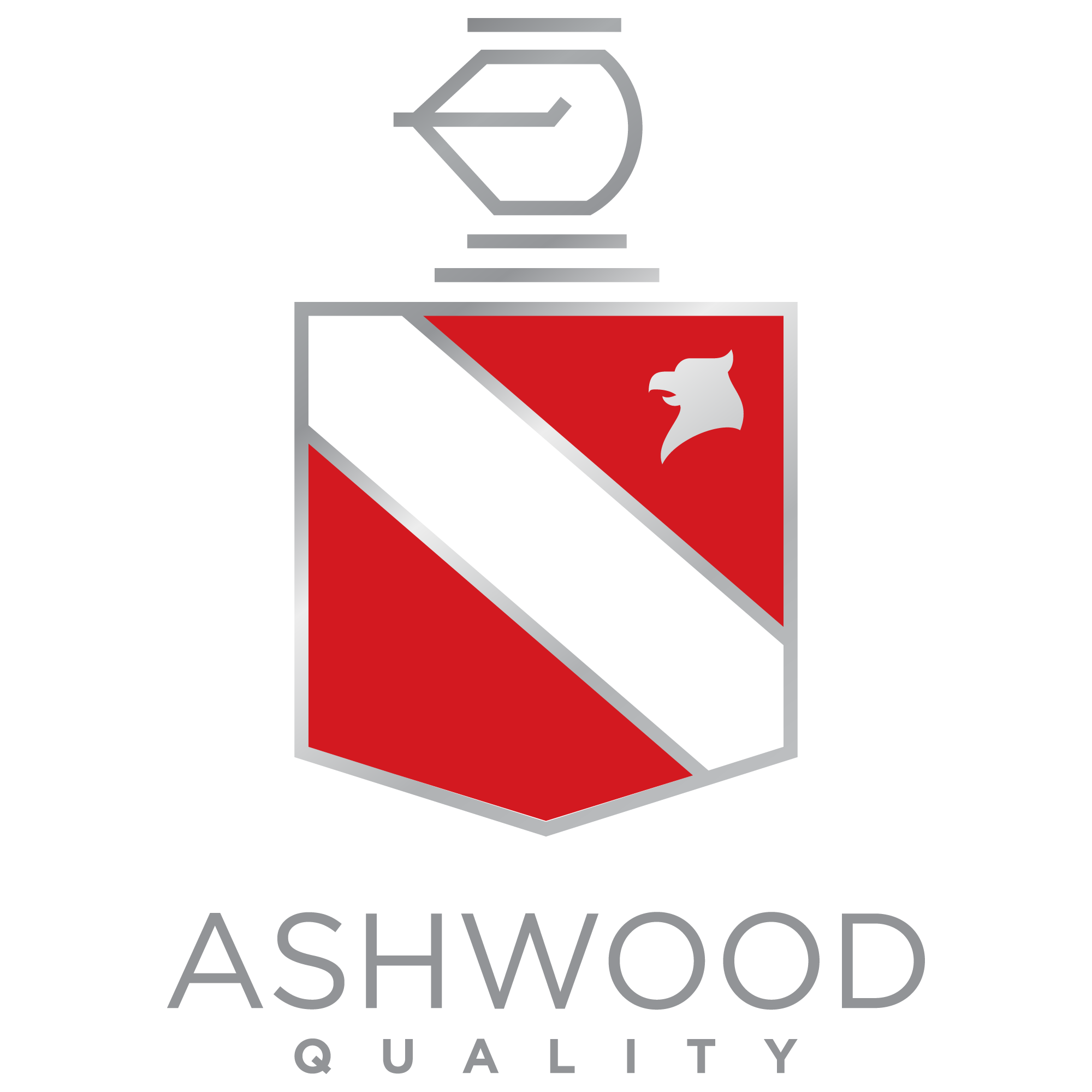 Contemporary Logo incorporating a Coat of Arms