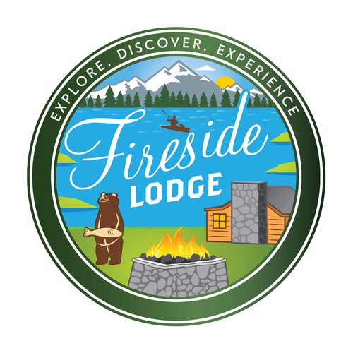 Fireside Lodge Logo