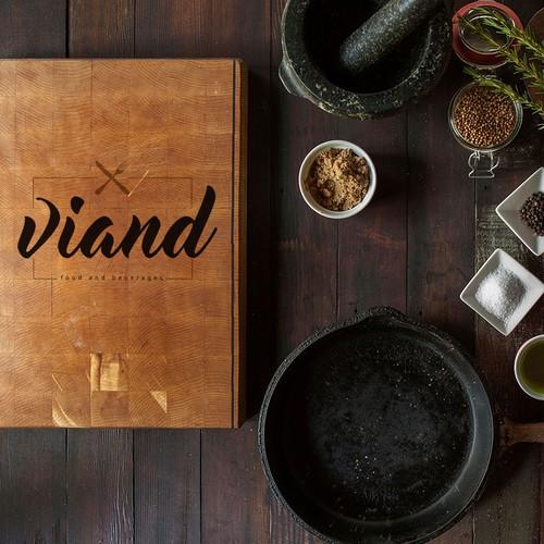 Viand - restaurant logo.