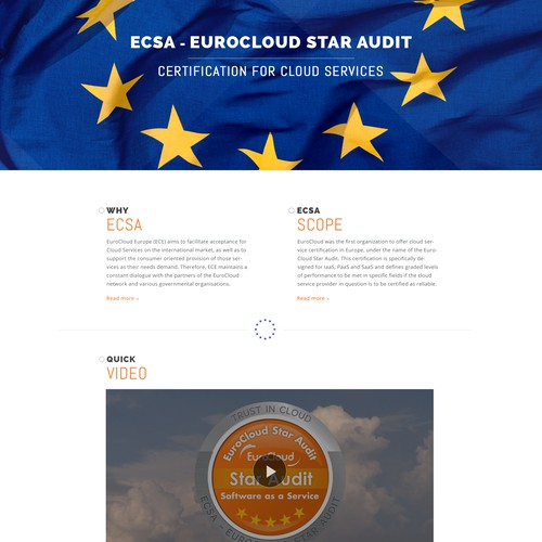 EuroCloud Star Audit Redesign