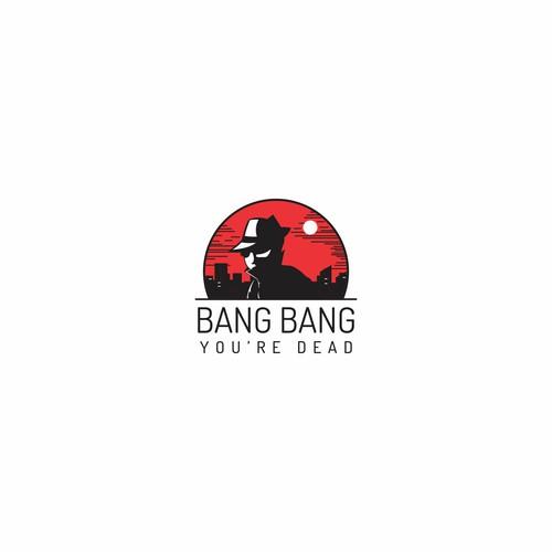 Logo for murder mystery game/app