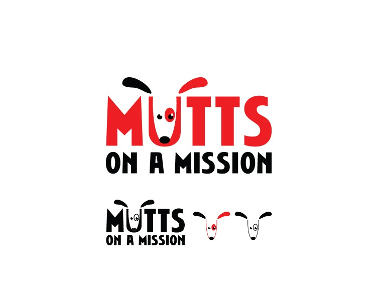 """Create an awesome logo for """"Mutts on a Mission!"""""""