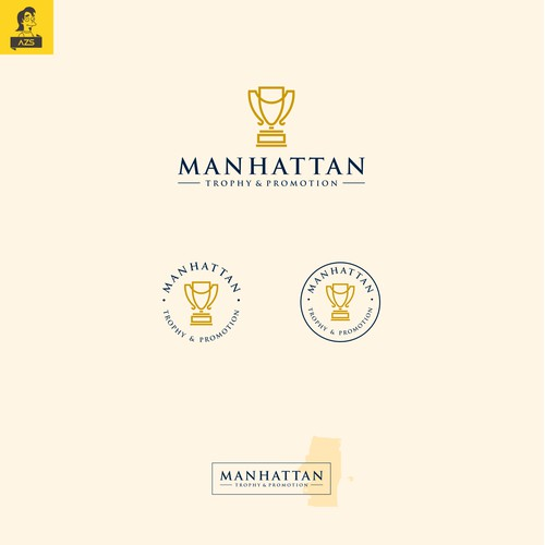 Manhattan Trophy & Promotion Logo