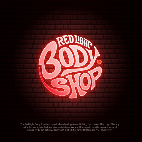 The Red Light Body Shop is above all else a healing center.