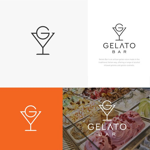 logo for Gelato Bar