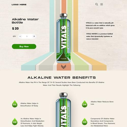 Psychedelic Alkaline Water Brand