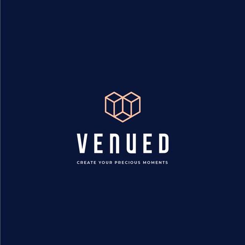 Logo design for Venued