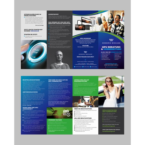 4 fold panel brochure
