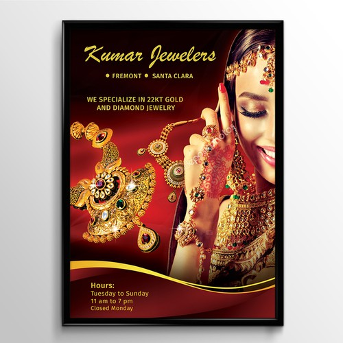 Indian jewelry store window coverings