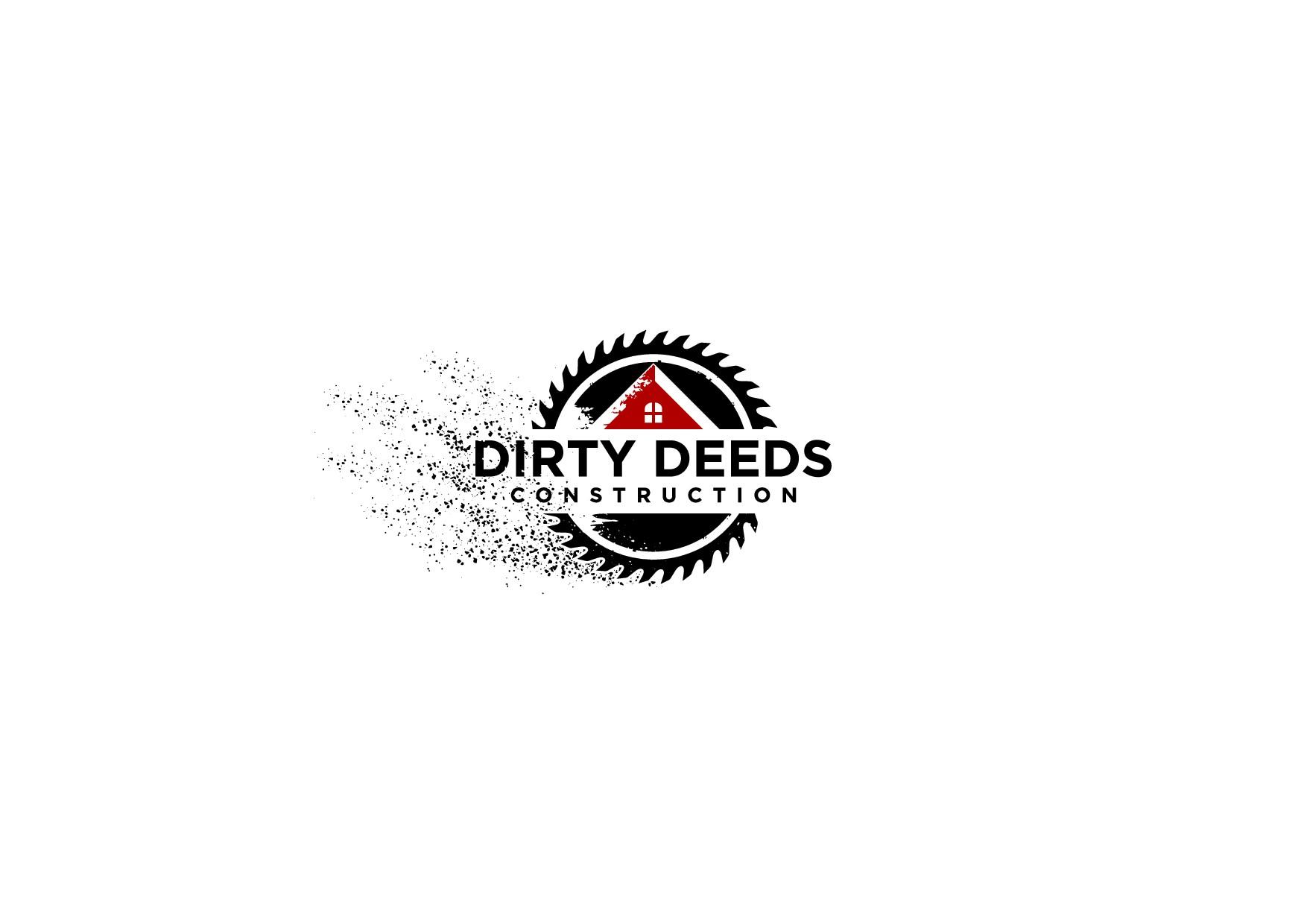 Dirty Deeds Logo for Dirty Steve