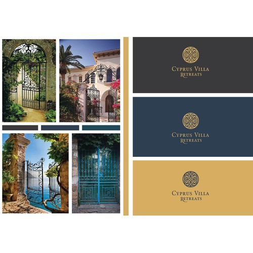 Logo Design for a Luxury Villa Rental Brand