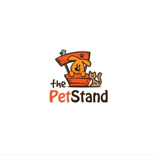 Logo for pet products selling