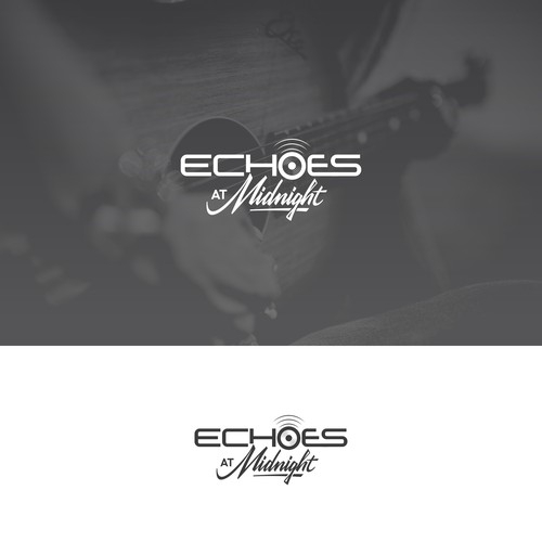 Simple and sophisticatied logo for Echoes at Midnight