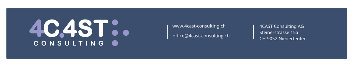 4CAST Consulting AG - Relaunch