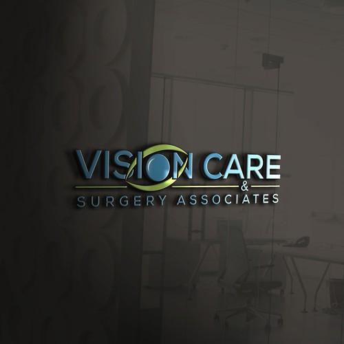 Logo Design for Vision Care and Surgery Associates