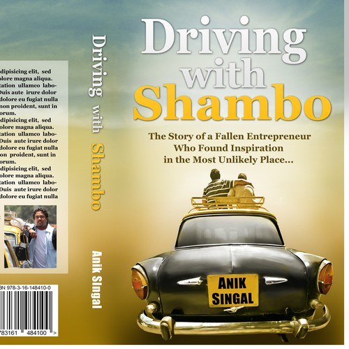 Driving with Shambo (Book Cover) - Need Cover For BIG Personal Development Book Launch Coming