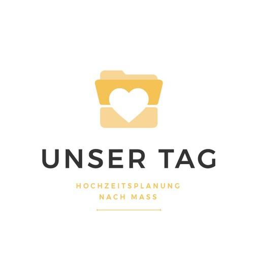 Logoentwurf für Hochzeitservices