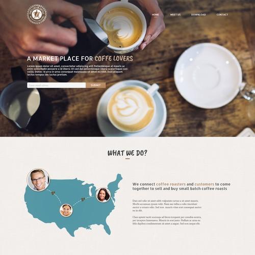 Coffe Landing Page
