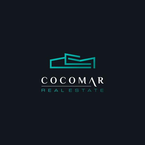 Sophisticated monogram logo for Real Estate Company