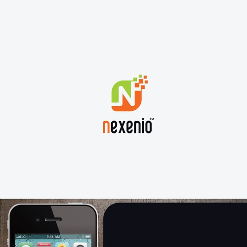 Create a memorizable logo for the Social Media SaaS company Nexenio