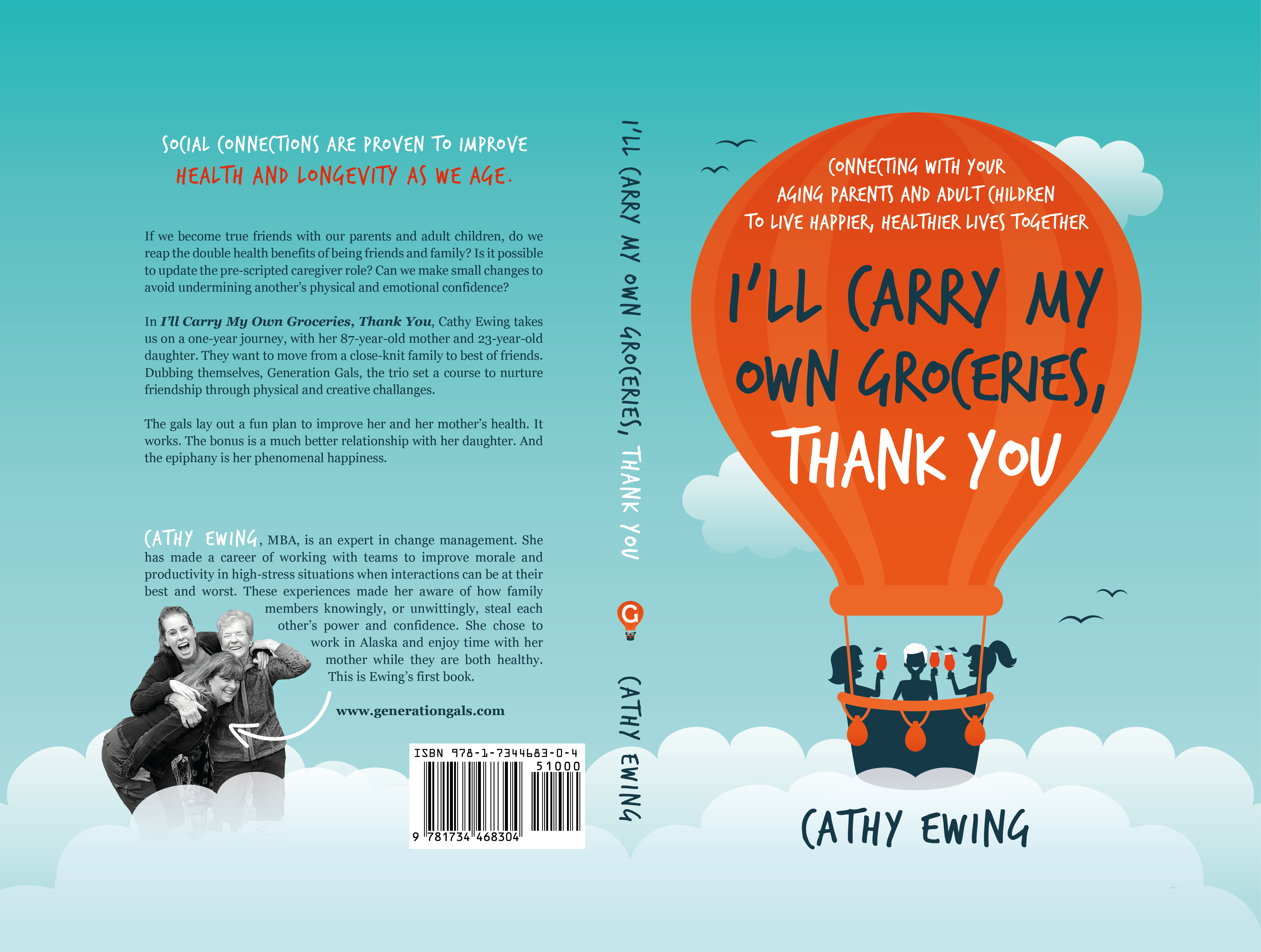 Don't we all have parents? And oh yes, kids. Fun women's communication book - first in a series!