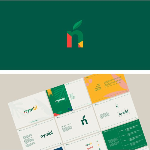 Fun Branding Project for Nymbl