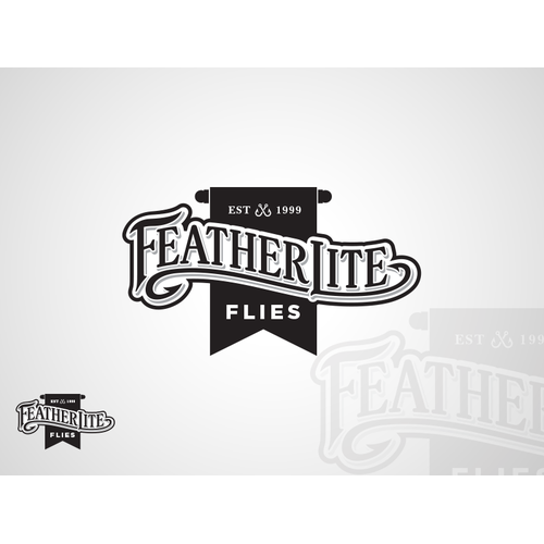 Logo for FeatherLite Flies
